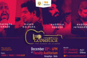 Ecoustica Live in Concert 3rd of December 2016