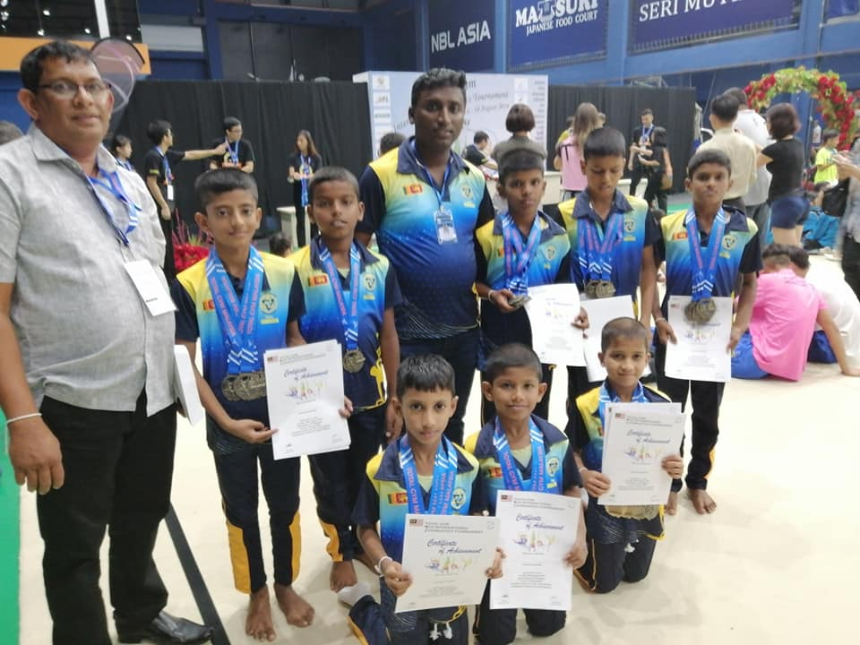 Sponsored for 7th International Gymnastic tournament 2019 in Malaysia